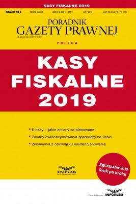 okładka Kasy fiskalne 2019, Ebook | praca  zbiorowa