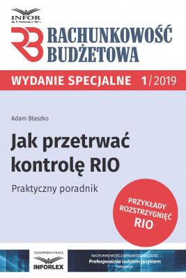 okładka Jak przetrwać kontrolę RIO.Praktyczny poradnik, Ebook | Adam Błaszko