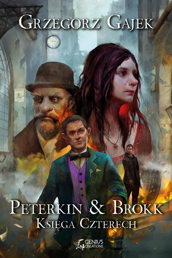 okładka Peterkin & Brokk: Księga Czterechebook | EPUB, MOBI | Grzegorz Gajek