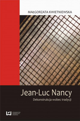okładka Jean-Luc Nancy, Ebook | Małgorzata Kwietniewska