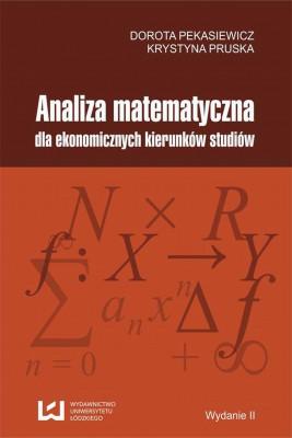 okładka Analiza matematyczna dla ekonomicznych kierunków studiów, Ebook | Dorota Pekasiewicz, Krystyna Pruska