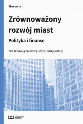 okładka Zrównoważony rozwój miast, Ebook | Beata  Guziejewska