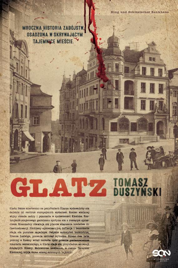 okładka Glatzebook   EPUB, MOBI   Duszyński Tomasz