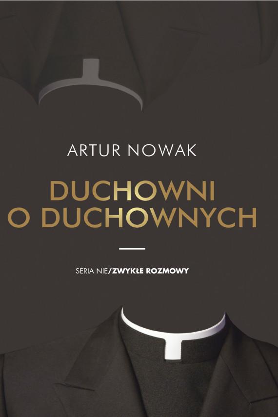 okładka Duchowni o duchownychebook | EPUB, MOBI | Nowak Artur