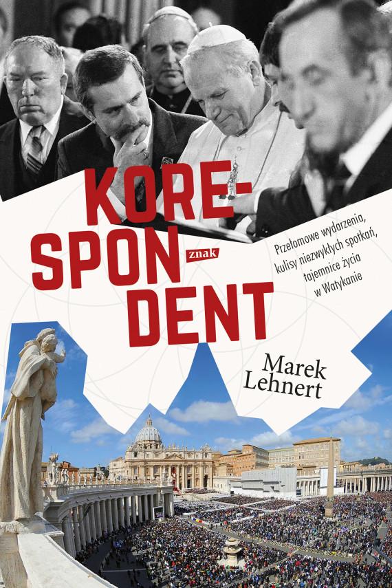 okładka Korespondentebook   EPUB, MOBI   Marek Lehnert