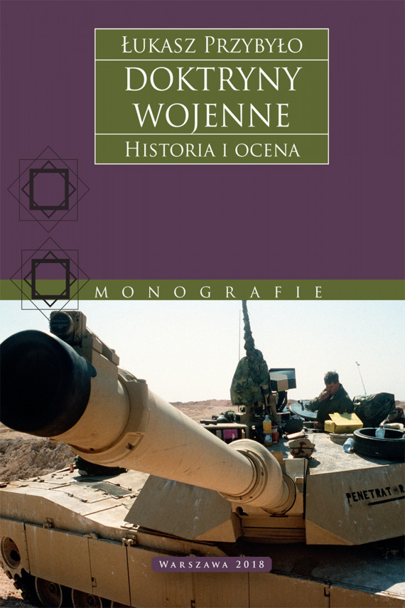 okładka Doktryny wojenne. Historia i ocenaebook | EPUB, MOBI | Łukasz Przybyło