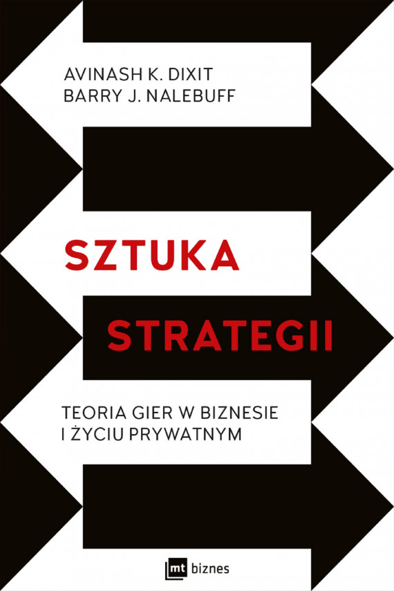 okładka Sztuka strategiiebook | EPUB, MOBI | Barry J. Nalebuff, Avinash K. Dixit