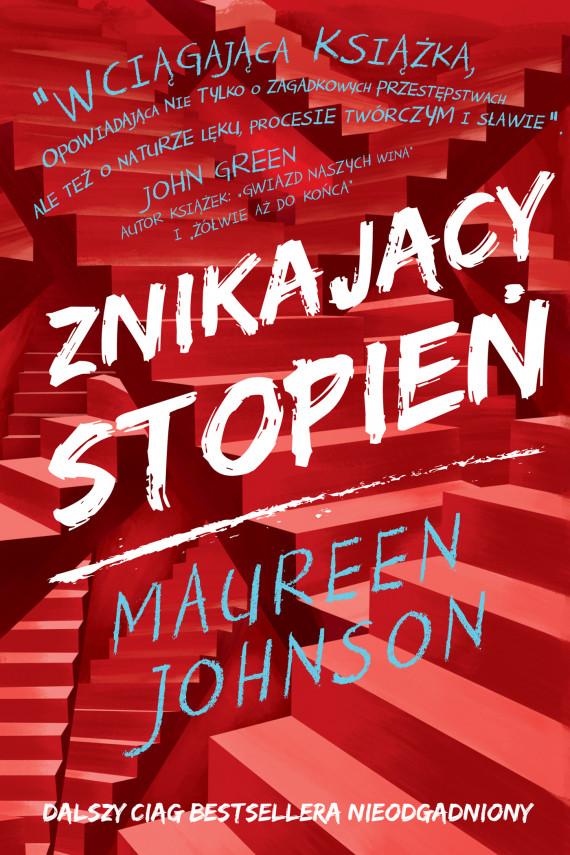 okładka Znikający stopieńebook | EPUB, MOBI | Johnson Maureen