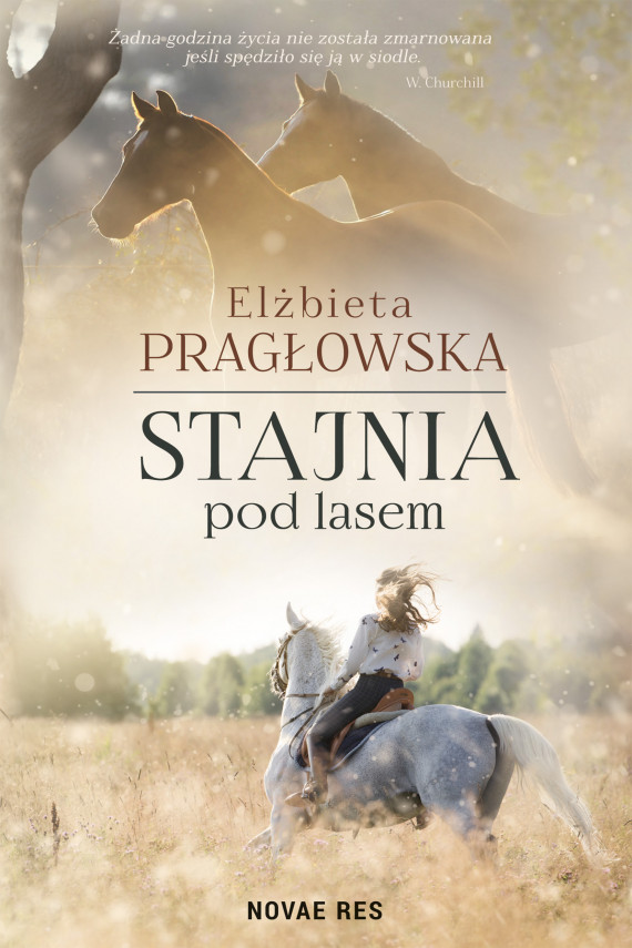 okładka Stajnia pod lasemebook | EPUB, MOBI | Elżbieta Pragłowska