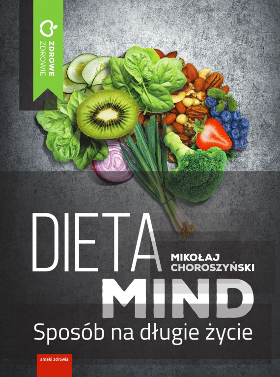 okładka Dieta MINDebook | EPUB, MOBI | Choroszyński Mikołaj