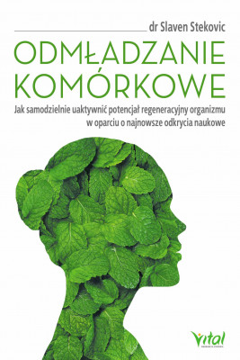 okładka Odmładzanie komórkowe - PDF, Ebook | Stekovic Slaven