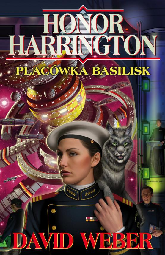 okładka Honor Harrington (#1). Placówka Basiliskebook | EPUB, MOBI | David Weber, Jarosław Kotarski, Anna Poniedziałek