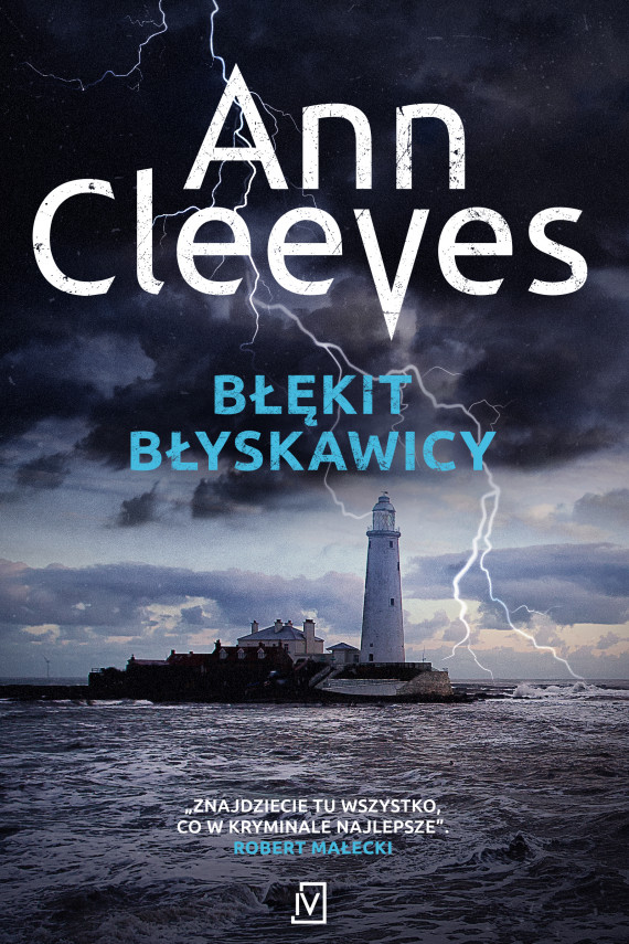 okładka Błękit błyskawicyebook | EPUB, MOBI | Ann Cleeves