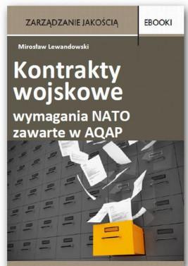 okładka Kontrakty wojskowe wymagania NATO zawarte w AQAP, Ebook | Mirosław  Lewandowski