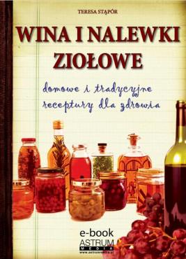 okładka Wina i nalewki ziołowe, Ebook | Teresa Stąpór