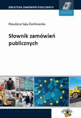 okładka Słownik zamówień publicznych, Ebook | Praca Zbiorowa
