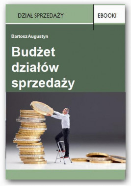 okładka Budżet działów sprzedaży, Ebook | Bartosz Augustyn