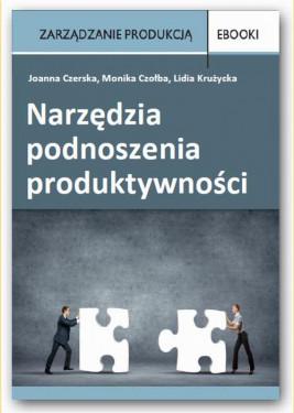 okładka Narzędzia podnoszenia produktywności, Ebook | Lidia Krużycka, Joanna Czerska, Monika Czołba