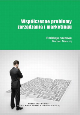 okładka Współczesne problemy zarządzania i marketingu, Ebook | Roman  Niestrój