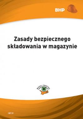 okładka Zasady bezpiecznego składowania w magazynie, Ebook | Lesław  Zieliński