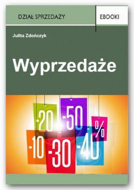okładka Wyprzedaże, Ebook | Julita Zdończyk