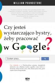 okładka Czy jesteś wystarczająco bystry. żeby pracować w Google?. Ebook | EPUB,MOBI | William Poundstone