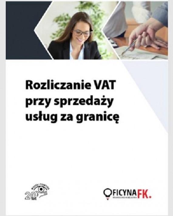 okładka Rozliczanie VAT przy sprzedaży usług za granicęebook | PDF | Tomasz Krywan, Rafał Kuciński