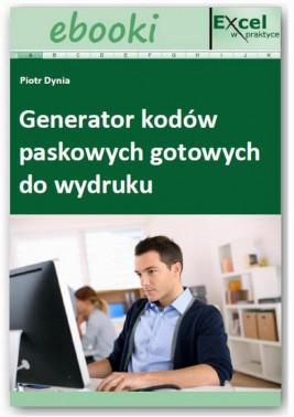 okładka Generator kodów paskowych gotowych do wydruku, Ebook | Praca Zbiorowa