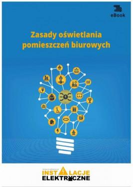 okładka Zasady oświetlania pomieszczeń biurowych, Ebook | Janusz  Strzyżewski
