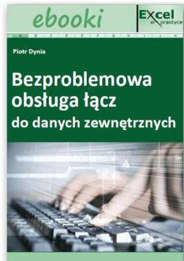 okładka Bezproblemowa obsługa łącz do danych zewnętrznych, Ebook | Praca Zbiorowa