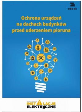 okładka Ochrona urządzeń na dachach budynków przed uderzeniem pioruna, Ebook | Janusz  Strzyżewski