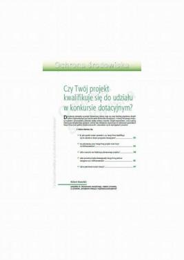okładka Czy Twój projekt kwalifikuje się do udziału w konkursie dotacyjnym?, Ebook | Robert Barański