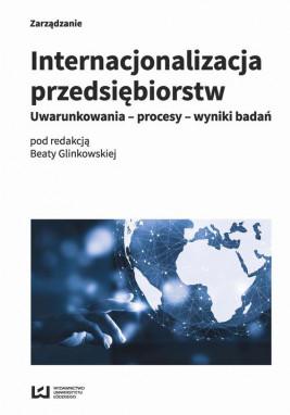 okładka Internacjonalizacja przedsiębiorstw, Ebook | Beata Glinkowska