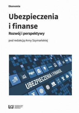 okładka Ubezpieczenia i finanse, Ebook | Anna Szymańska