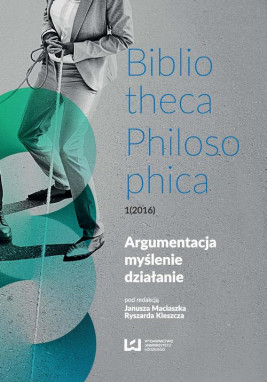 okładka Argumentacja, myślenie, działanie, Ebook | Janusz Maciaszek, Ryszard Kleszcz