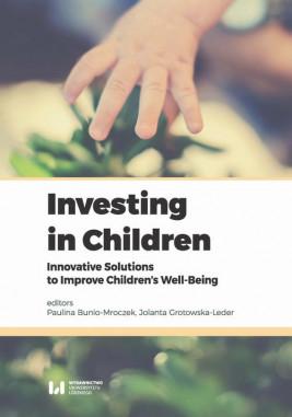 okładka Investing in Children, Ebook   Jolanta Grotowska-Leder, Paulina Bunio-Mroczek