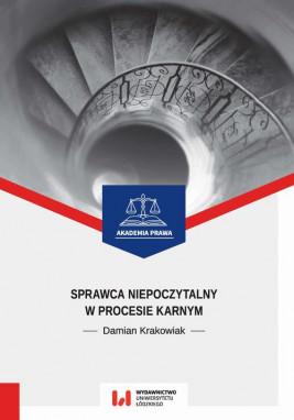 okładka Sprawca niepoczytalny w procesie karnym, Ebook | Damian Krakowiak