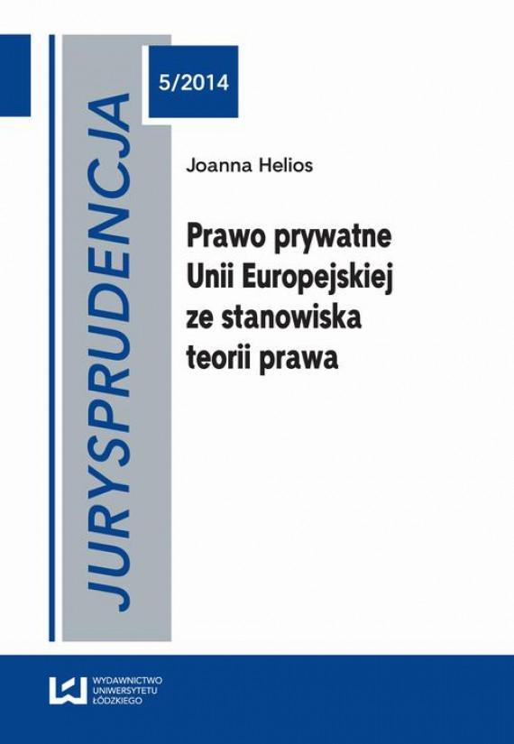 okładka Jurysprudencja 5/2014ebook   PDF   Joanna Helios