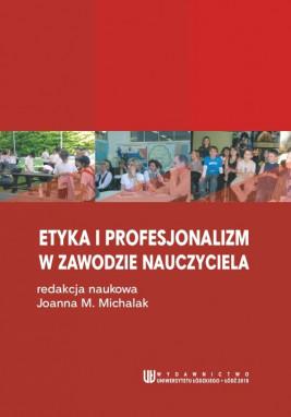 okładka Etyka i profesjonalizm w zawodzie nauczyciela, Ebook | Joanna M.