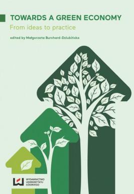 okładka Towards a Green Economy, Ebook | Małgorzata Burchard-Dziubińska