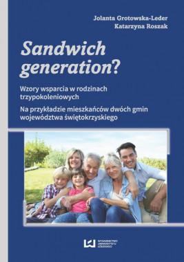 okładka Sandwich generation?, Ebook | Jolanta Grotowska-Leder, Katarzyna Roszak