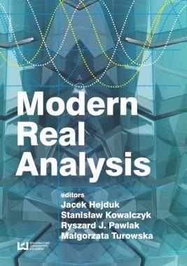 okładka Modern Real Analysis, Ebook | Stanisław  Kowalczyk, Jacek Hejduk, Małgorzata Turowska, Ryszard J.