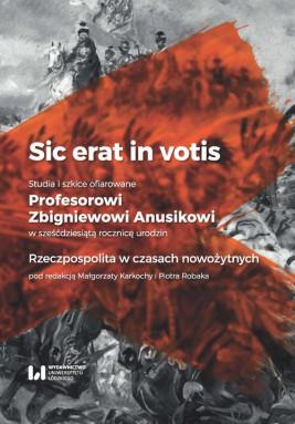 okładka Sic erat in votis, Ebook | Małgorzata  Karkocha, Piotr  Robak