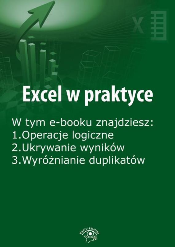 okładka Excel w praktyce, wydanie luty 2016 r.ebook | EPUB, MOBI | Rafał  Janus