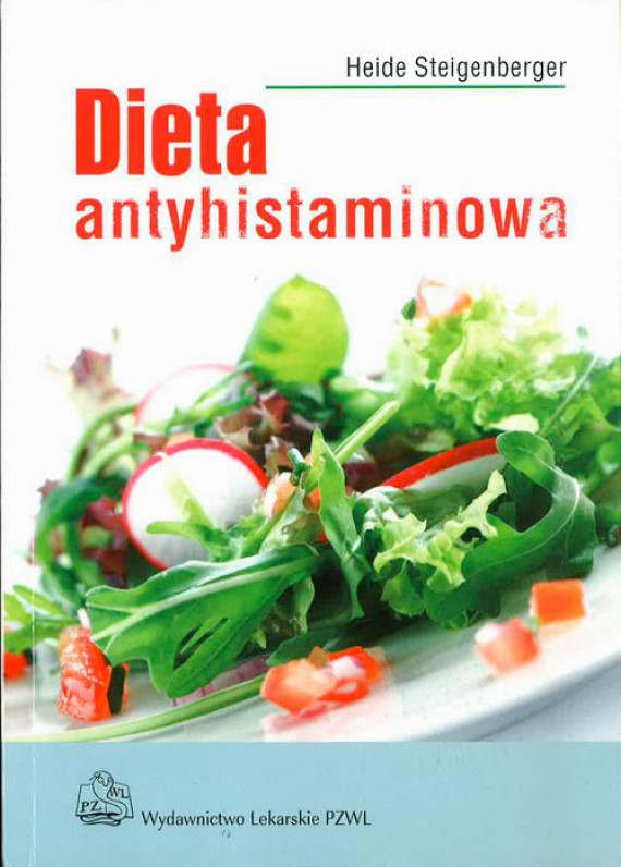 okładka Dieta antyhistaminowaebook   EPUB, MOBI   Heide Steigenberger