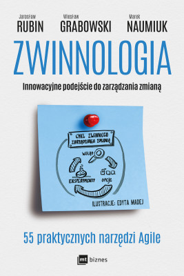 okładka Zwinnologia, Ebook   Jarosław Rubin, Wiesław Grabowski, Marek Naumiuk