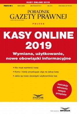 okładka Kasy online 2019, Ebook | praca  zbiorowa