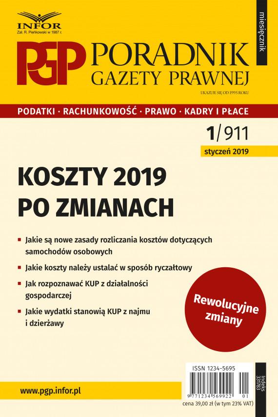 okładka Koszty 2019 – po zmianachebook | PDF | Tomasz Krywan