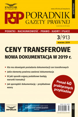 okładka Ceny transferowe - dokumentacja w 2019 r., Ebook | Mariusz Makowski