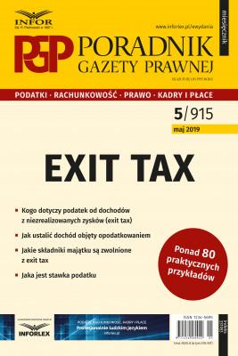 okładka Exit tax, Ebook | praca  zbiorowa